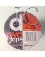 D3 PVC Tape 18mmx20m
